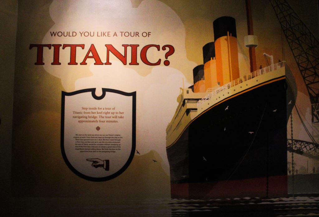 pannello titanic