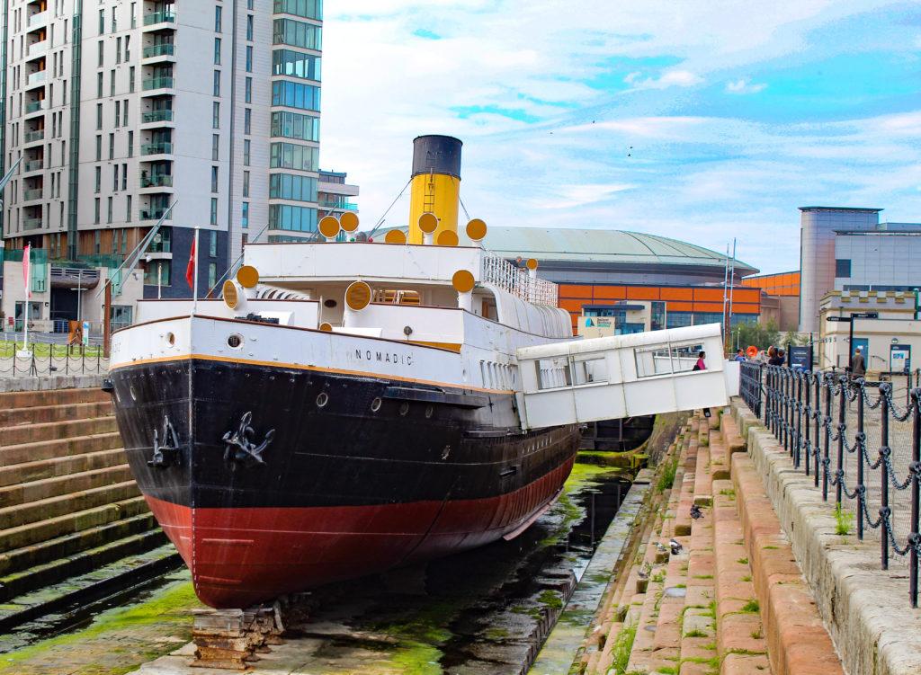 tender nomadic, museo titanic