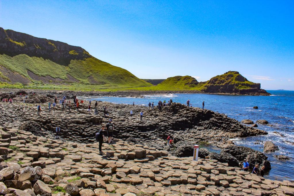 giant's causeway con bambini, irlanda del nord