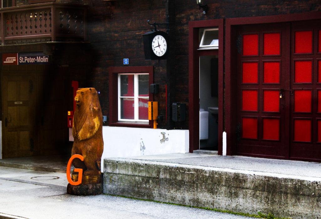 treno degli orsi ferrovia retica Arosa Coira