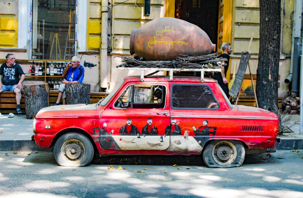 auto e qveri in georgia