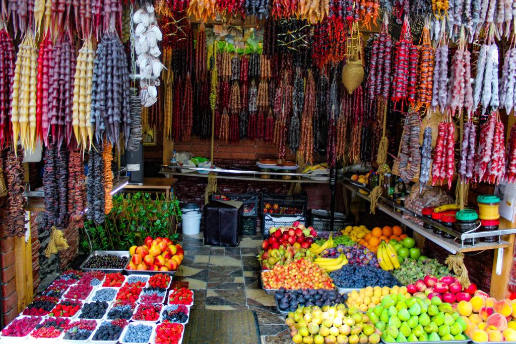 frutta per strada