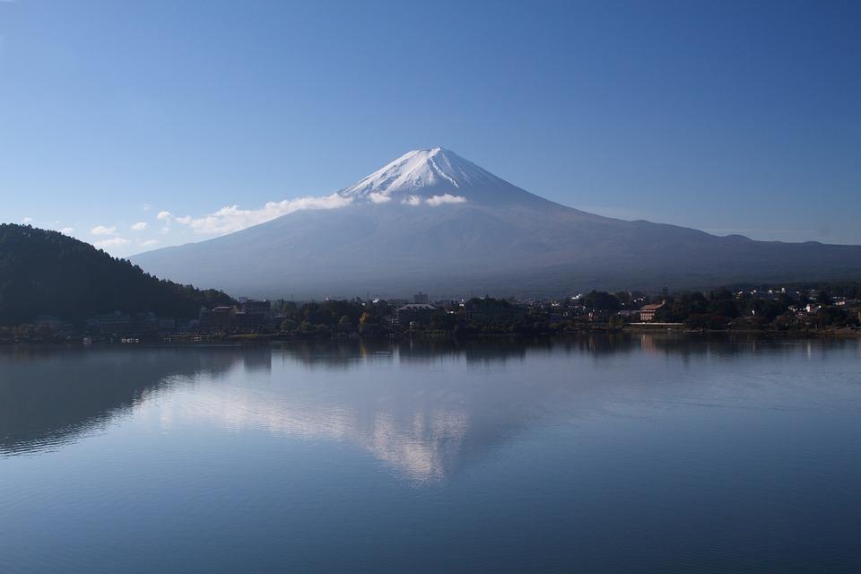 mount fuji near tokyo