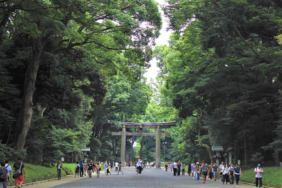 park tokyo with kids