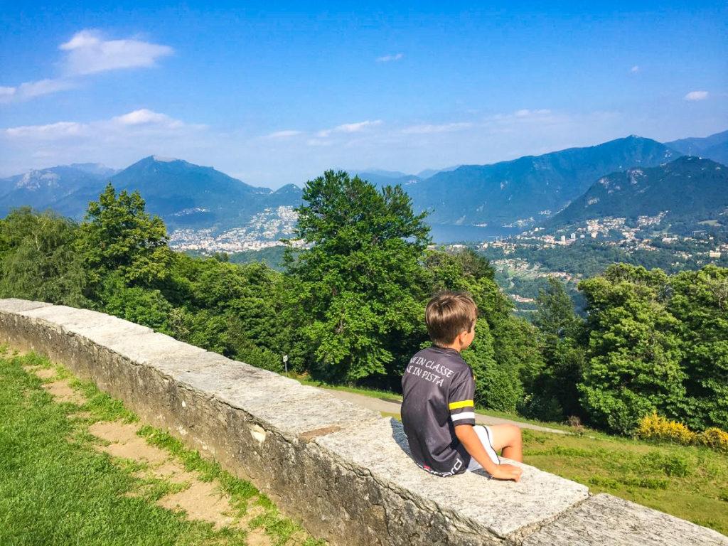 una delle passeggiate autunnali nel Malcantone ad Iseo (Ticino)