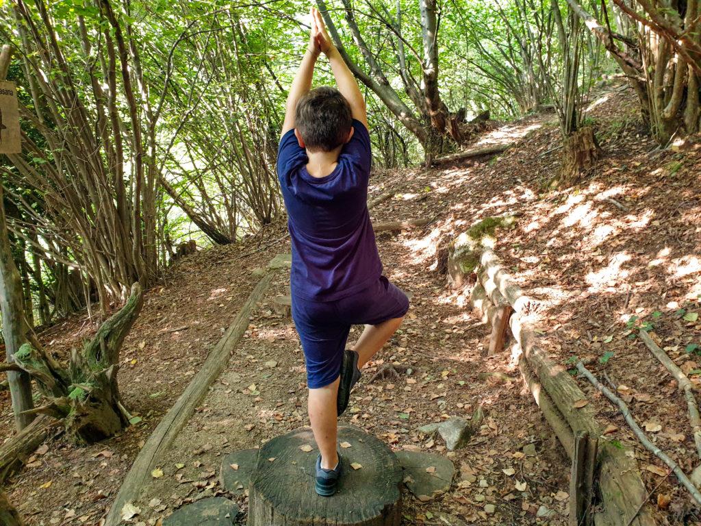percorso yoga gambarogno, fra le più singolari passeggiate autunnali in ticino