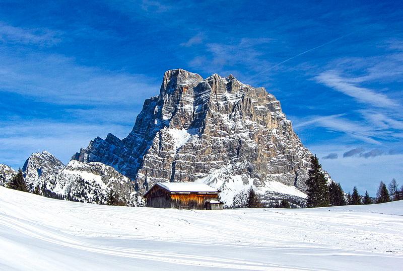 monte civetta sciare in italia