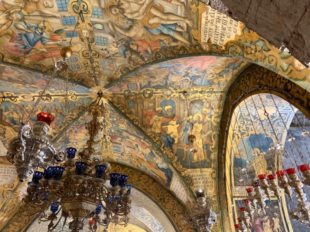 Volta basilica santo sepolcro