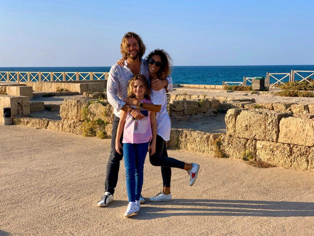 israele con bambini