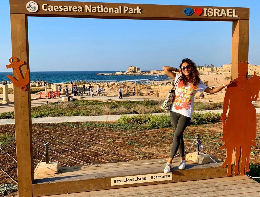 viaggio in israele cesarea