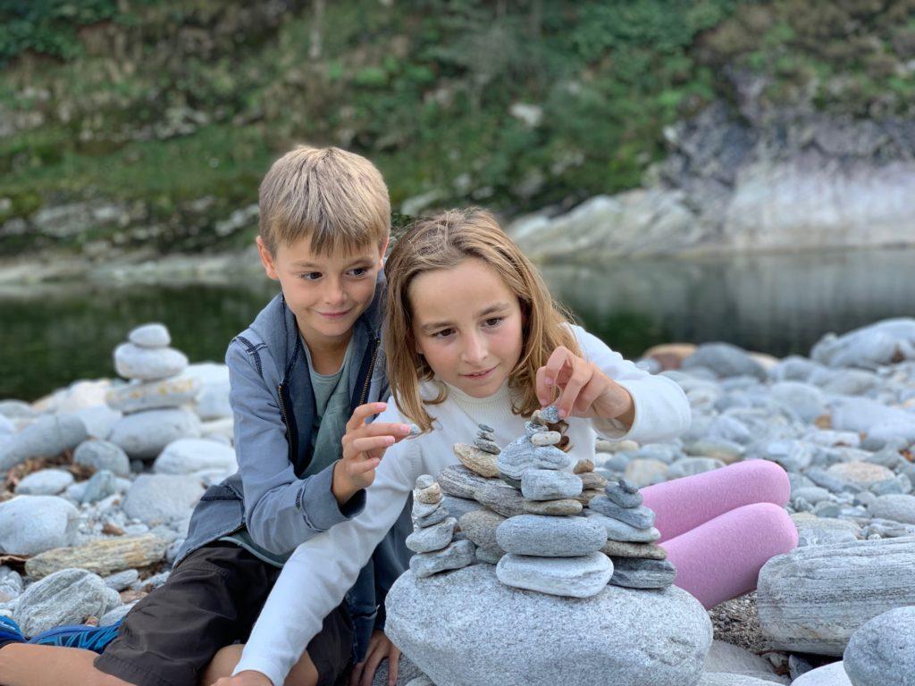 Attività sul fiume a Gordevio, Glamping Ticino