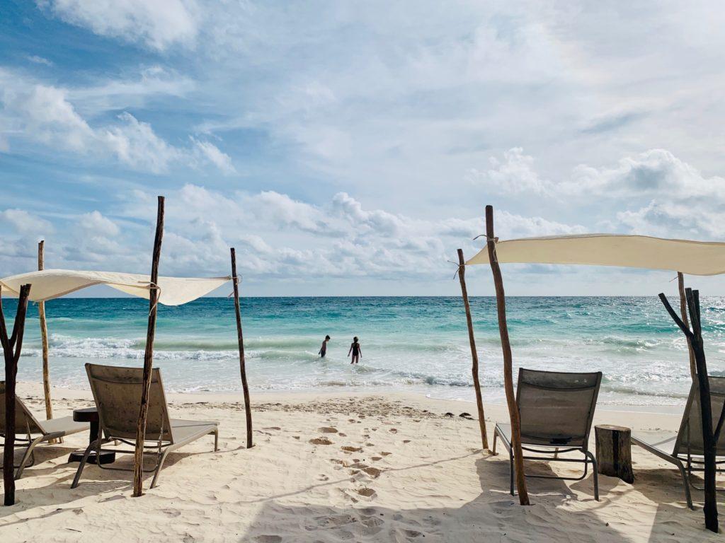 spiaggia di Tulum Messico