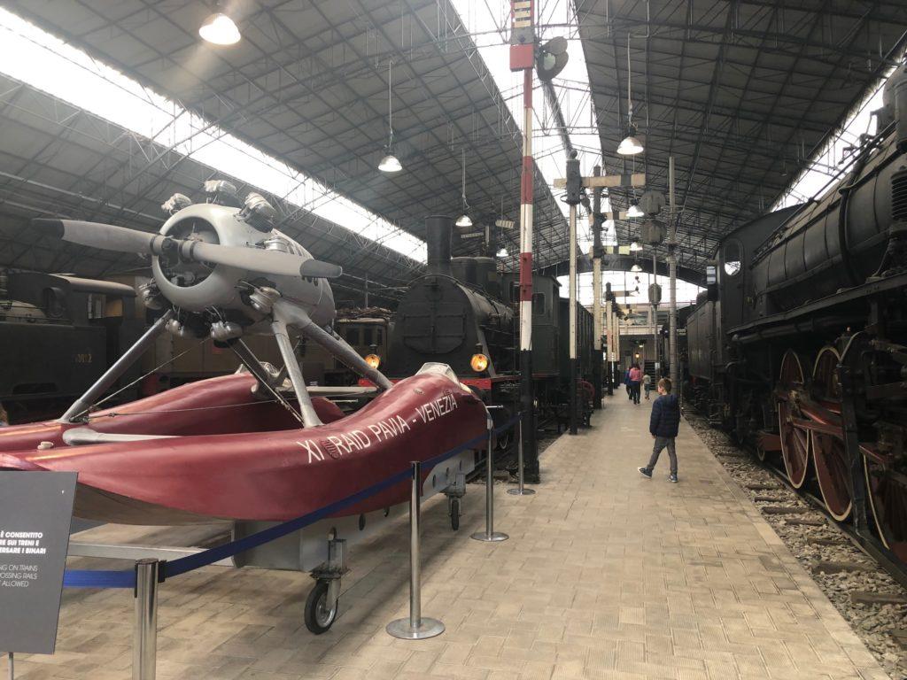 padiglione ferroviario al museo della scienza e tecnologia di Milano