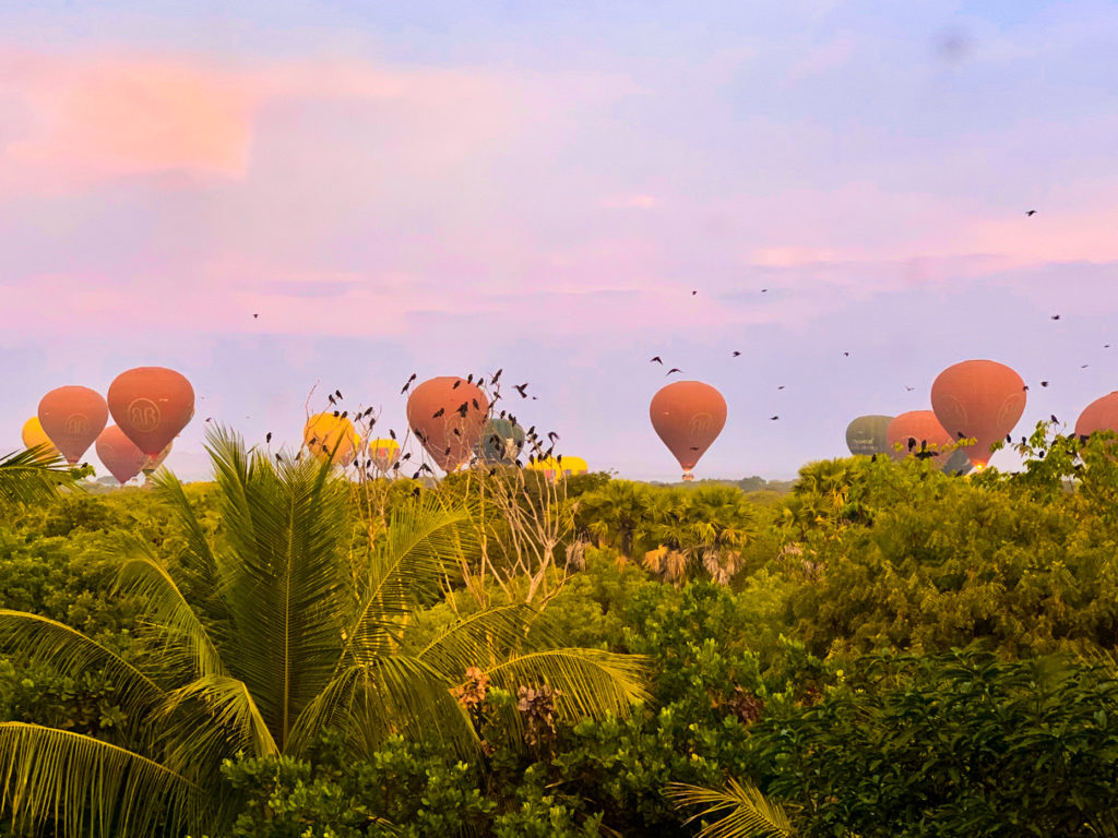 Bagan al tramonto