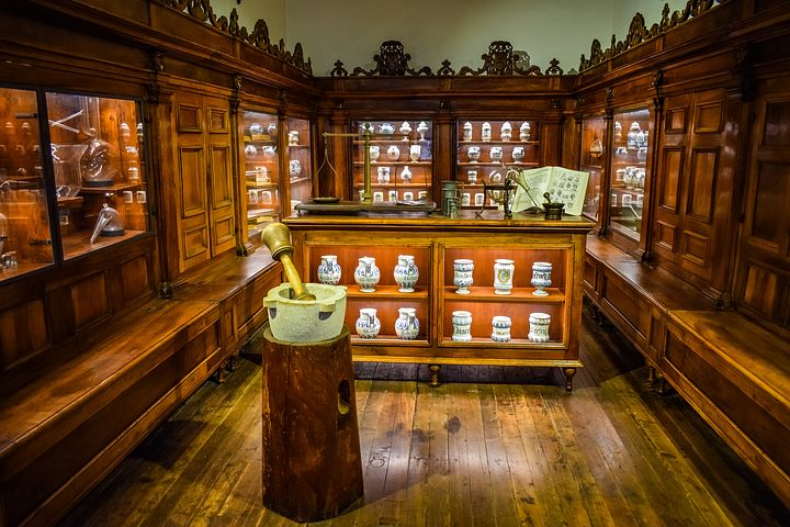 farmacia al museo della scienza di Milano