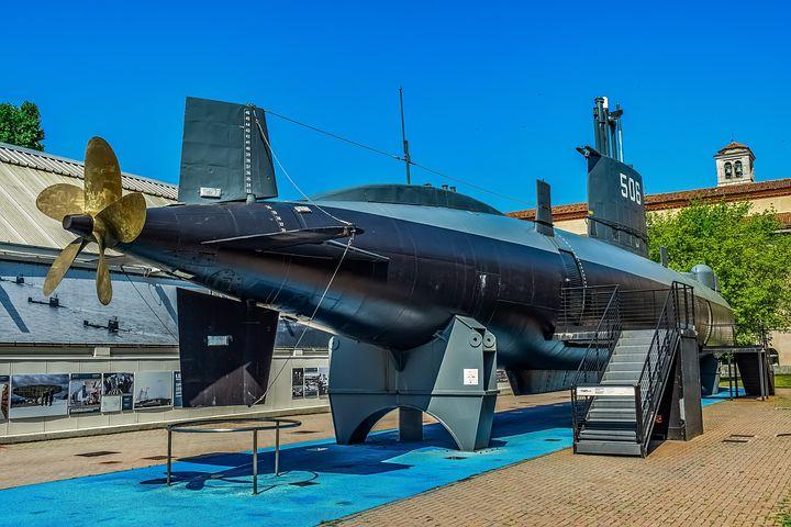 Sottomarino Toti al museo della scienza e tecnologia di Milano