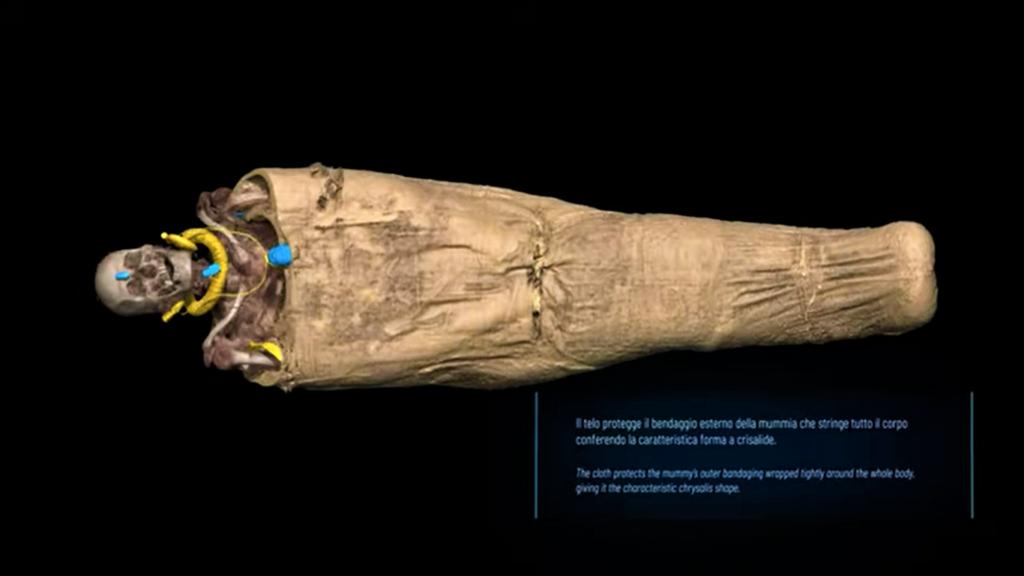 Mummia di Kha  Museo Egizio di Torino