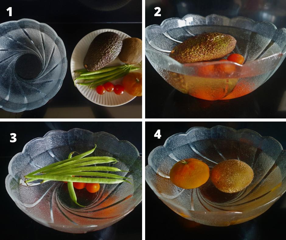 esperimenti scientifici con il cibo