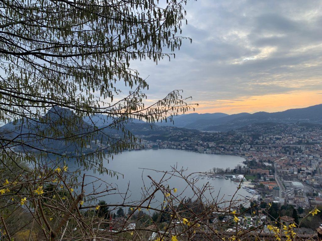 vista dal monte bre