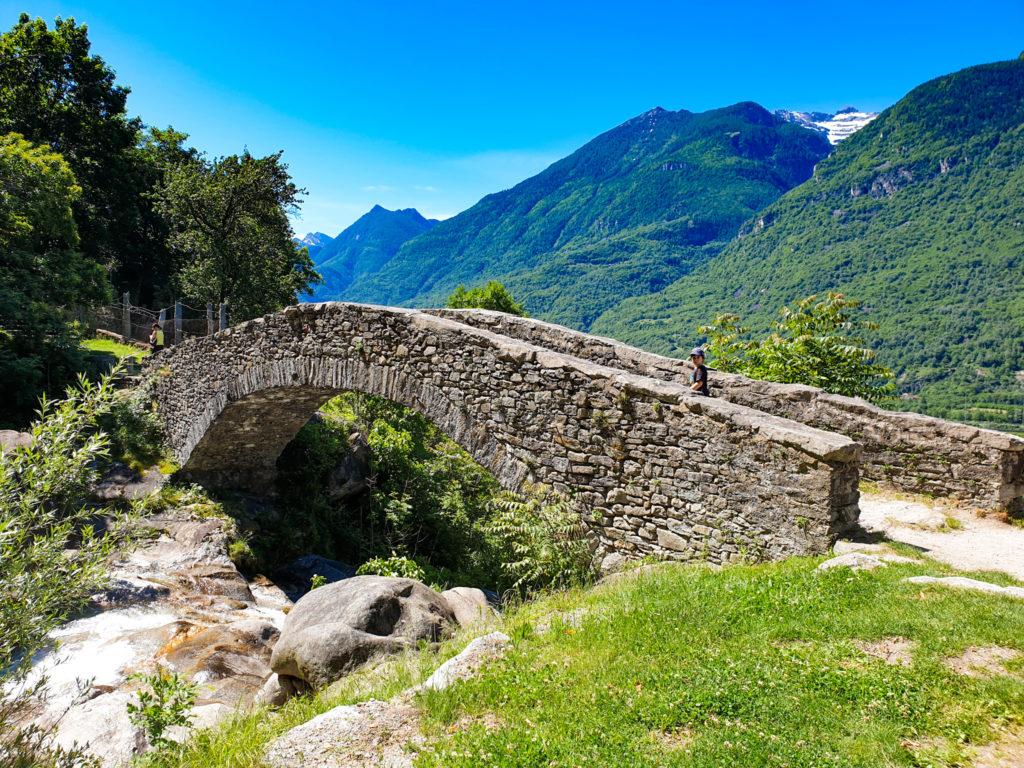ponte romano sopra biasca