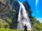 Biasca: picnic alle pozze della cascata di Santa Petronilla