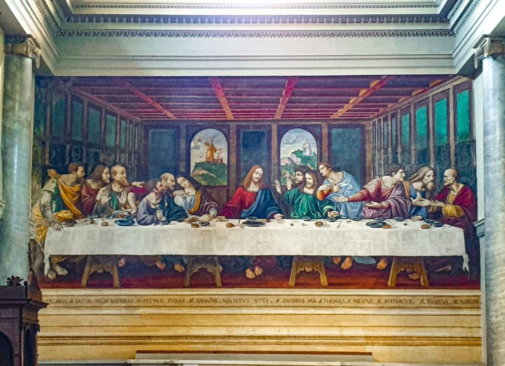 Il cenacolo di Ponte Capriasca