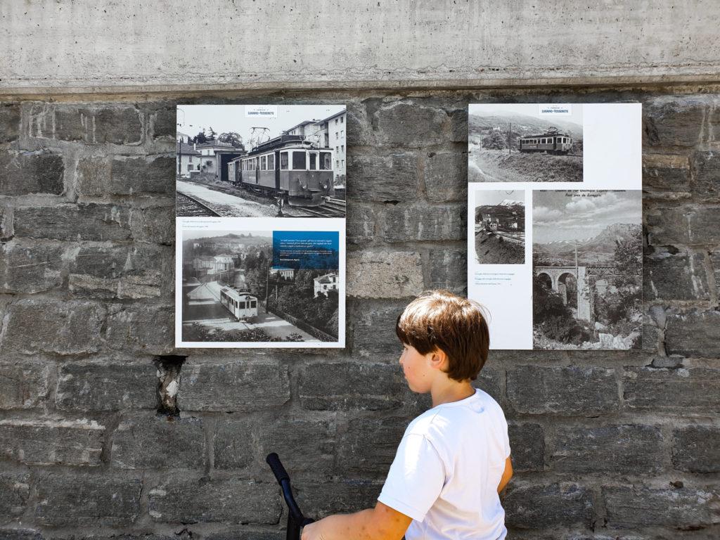 pannelli ferrovia Lugano tesserete