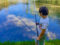 Pescare la cena ai laghetti Audan di Ambrì