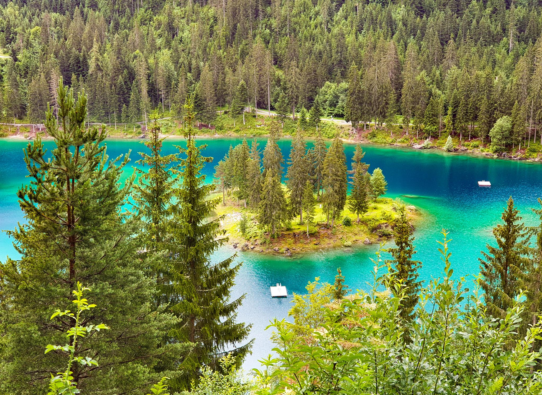 lago di cauma flims