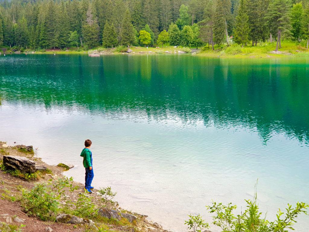 il giro attorno al lago