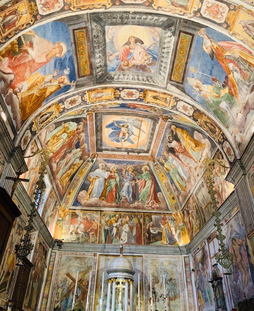 Gli affreschi della Chiesa di San Martino