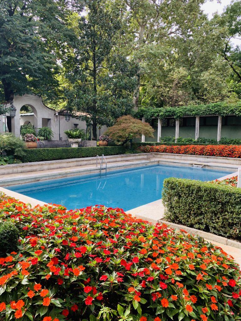 La piscina di Villa Necchi-Campiglio