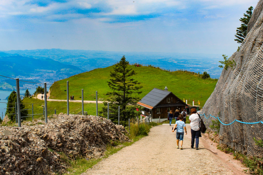 Sentiero fra Rigi Kulm e Staffel