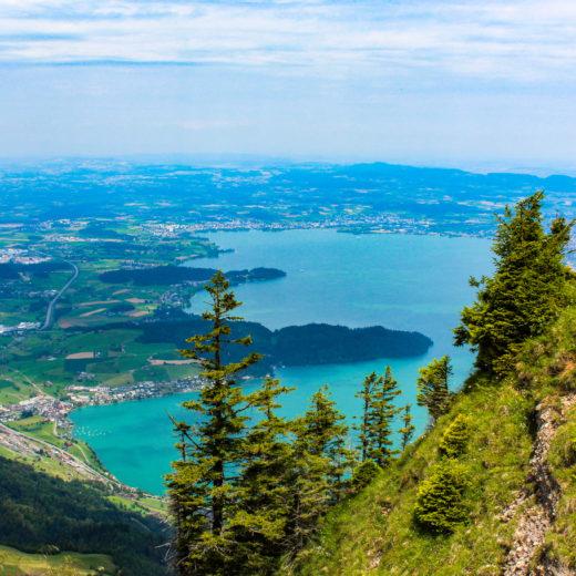rigi vista sui 3 laghi