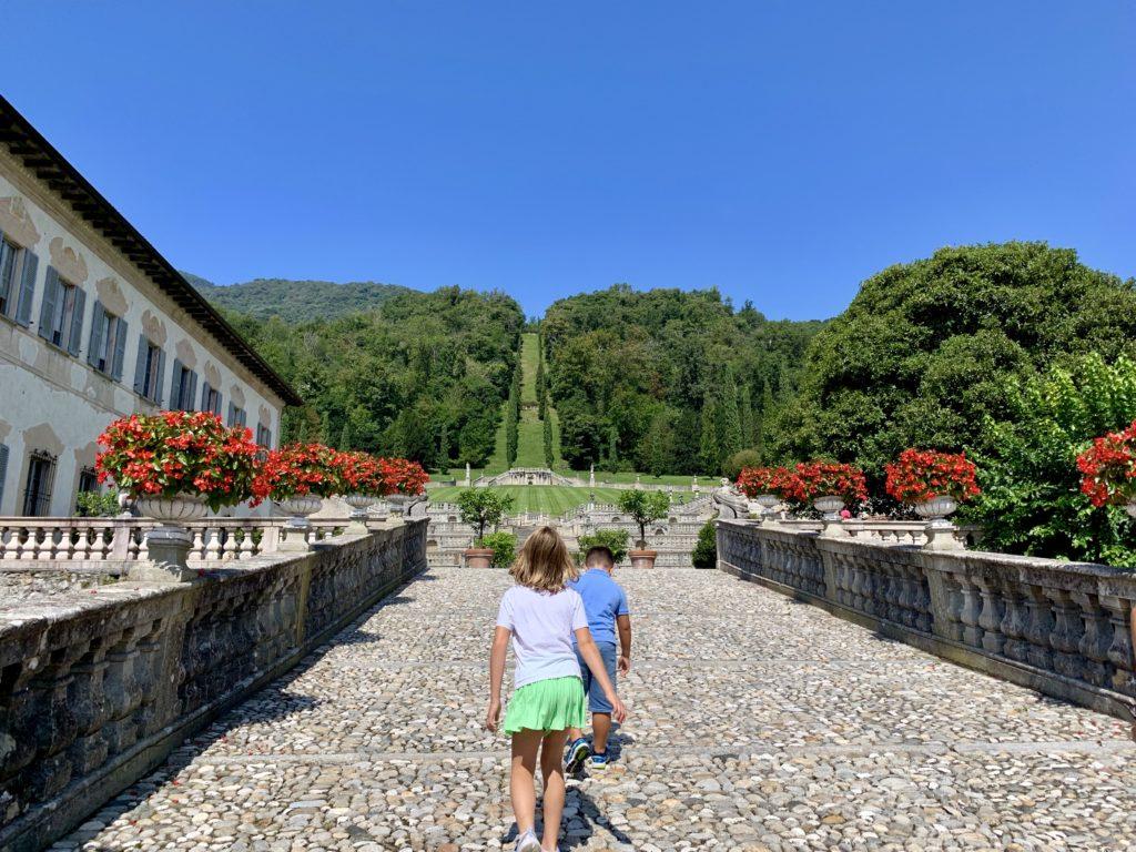 Il giardino all'italiana di Villa Porta Bozzolo