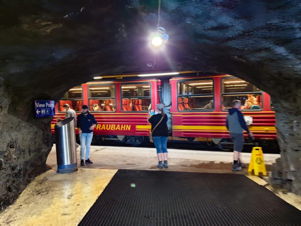 treno della jungfraubahn