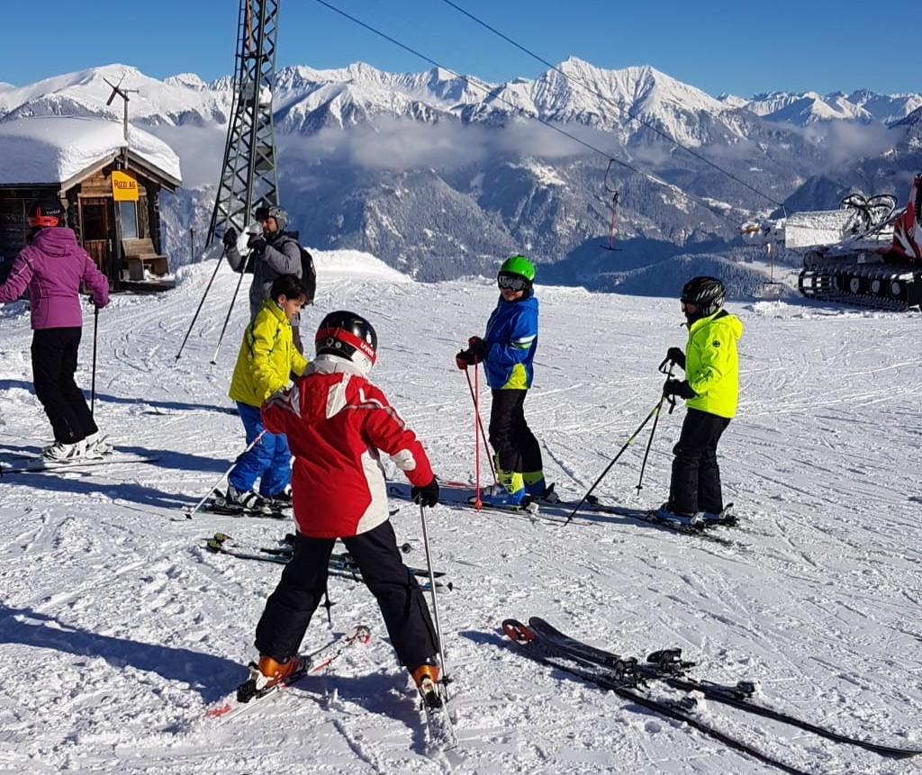 Piccoli grandi sciatori nei Grigioni