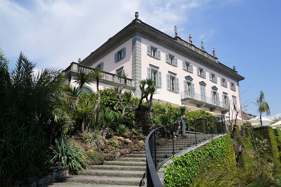 ristorante/albergo dell'Isola Grande Brissago