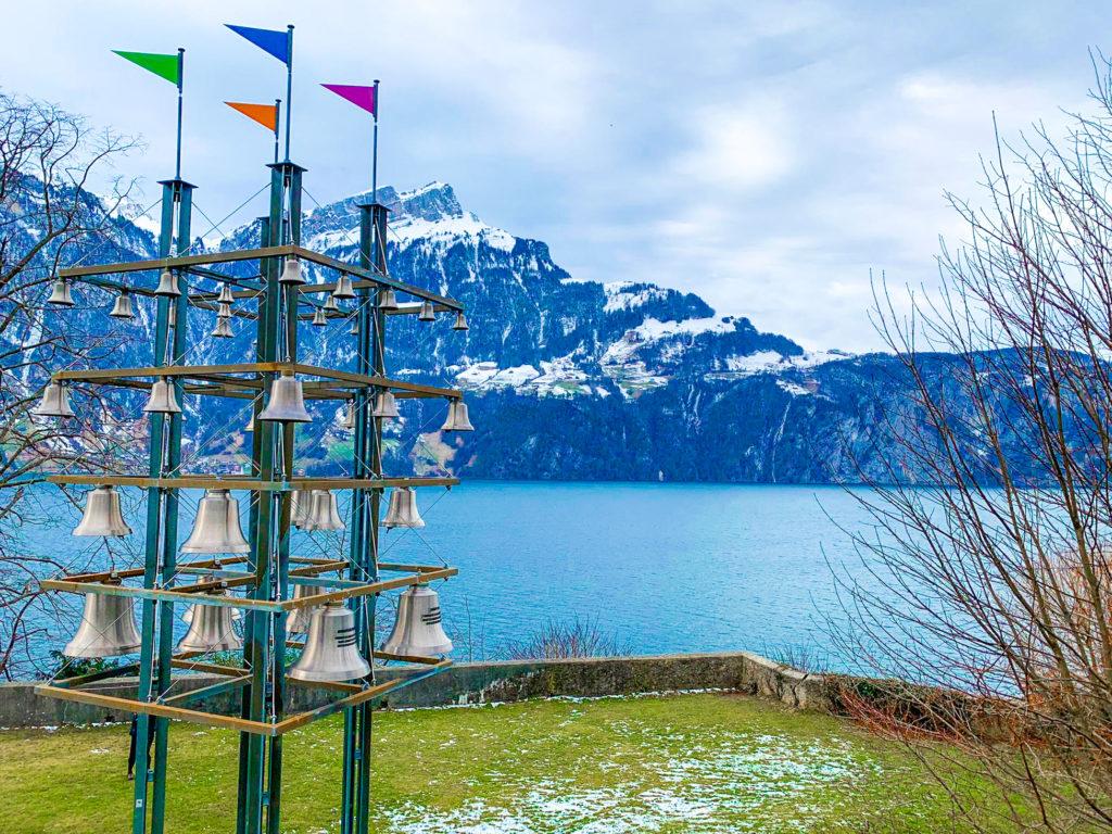 carillon lungo la via Svizzera