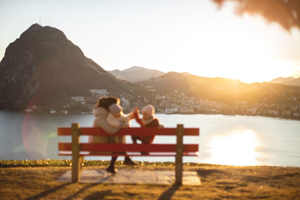 punti panoramici lago di Lugano Parco San Michele
