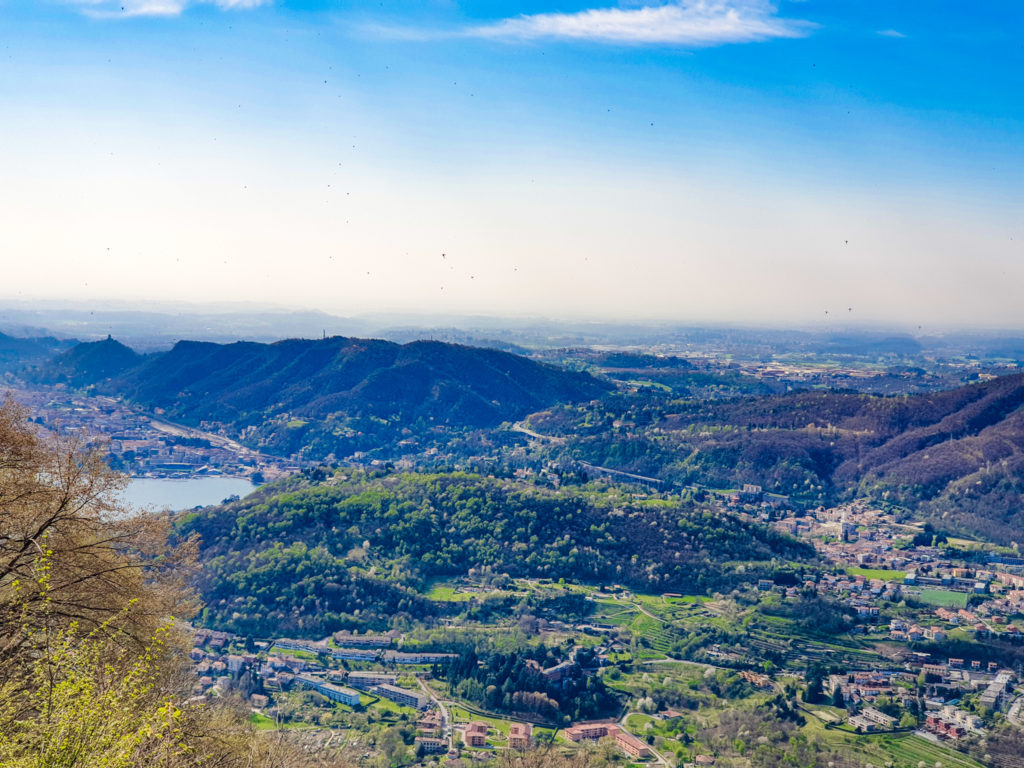 paesaggio di confine italia svizzera, Cernobbio Sagno