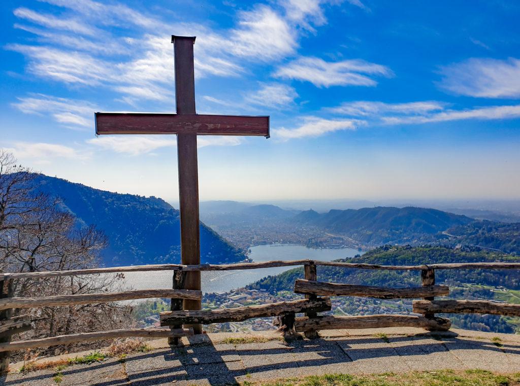 Croce dell'Uomo sopra Cernobbio
