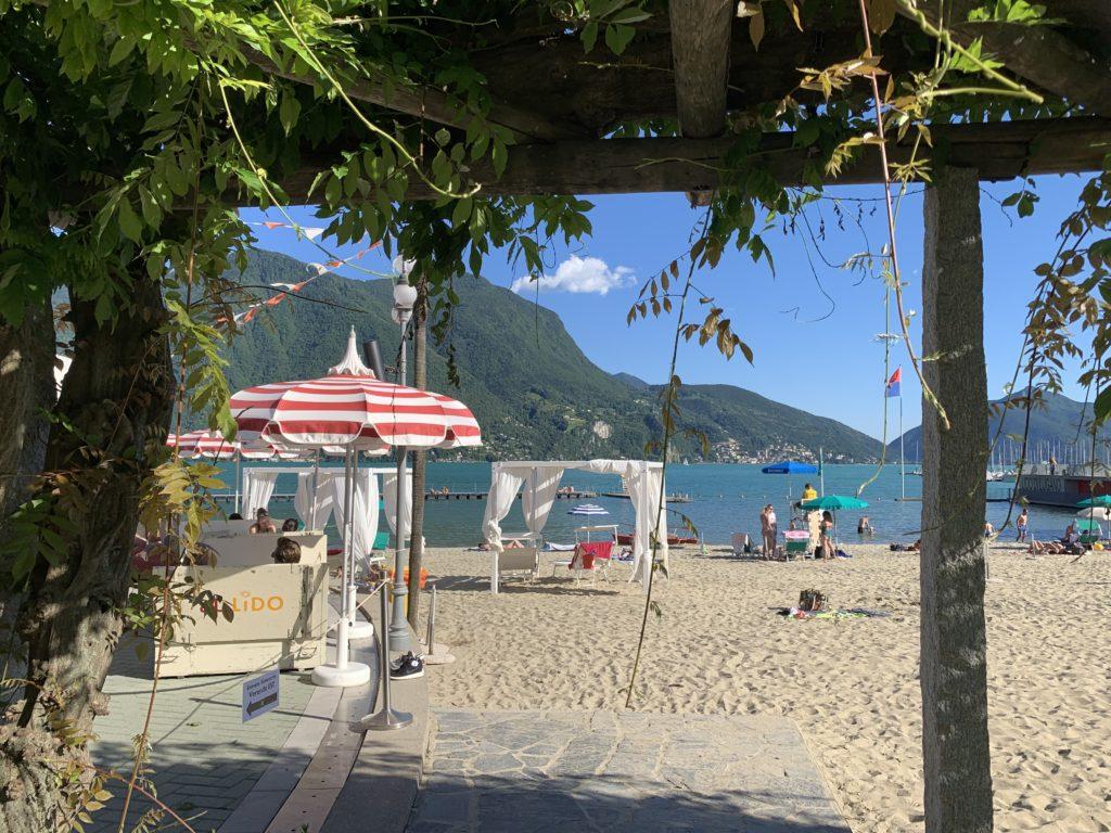 Lugano in estate