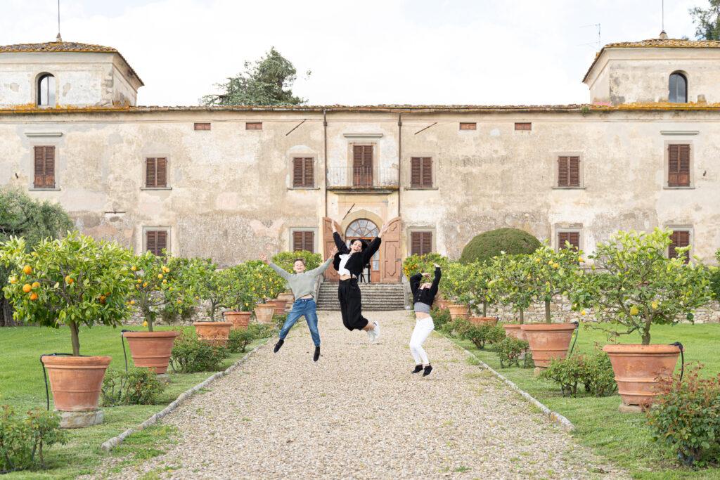 itinerario in Toscana con bambini, Villa Medicea di Lilliano