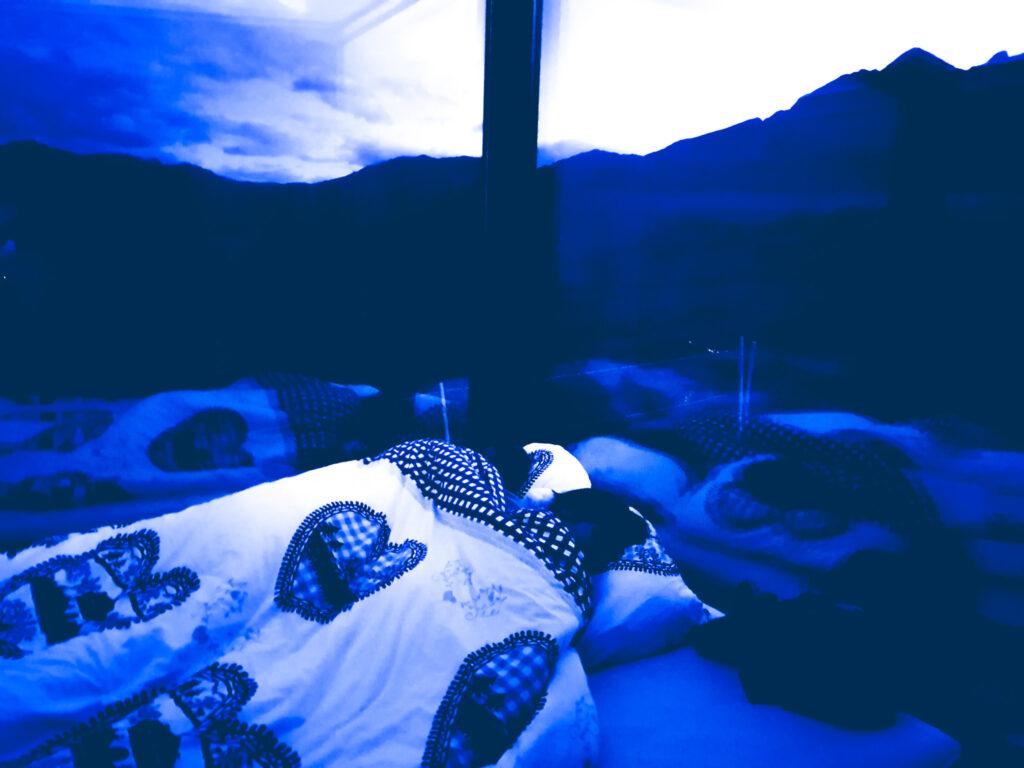 notte sotto le stelle a Gaia, Ticino