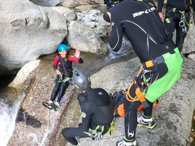 canyoning Ticino
