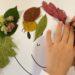 attività con foglie autunnali